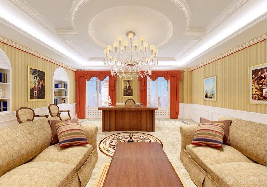 简欧风格一居室案例装修效果图