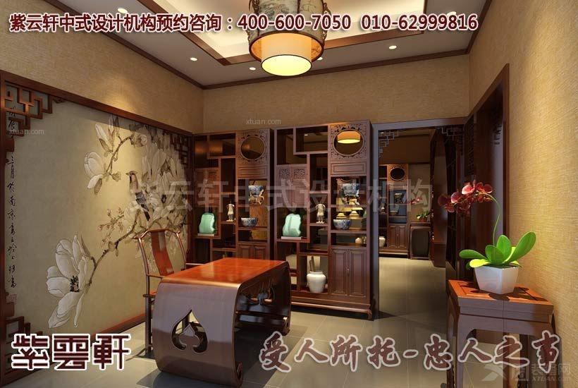 现代风格茶馆_武汉茶餐会所中式案例赏析
