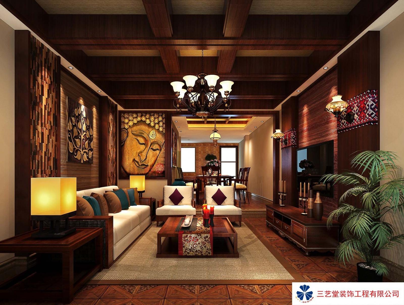 东南亚风格别墅