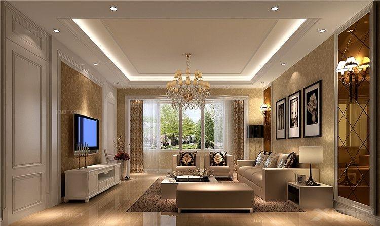 客厅装修效果图 客厅设计装修效果图  户型:三室两厅 房间:客厅 风格