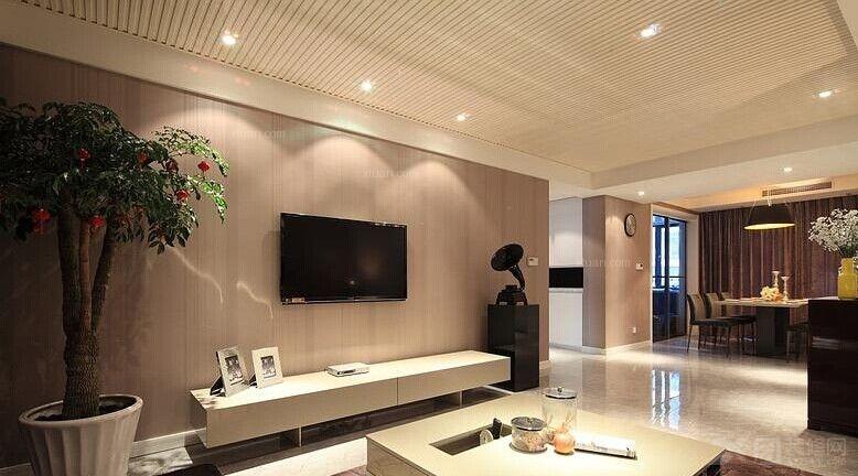 户型:三室两厅 房间:客厅 风格:现代简约 装修类型:家装 装修方式
