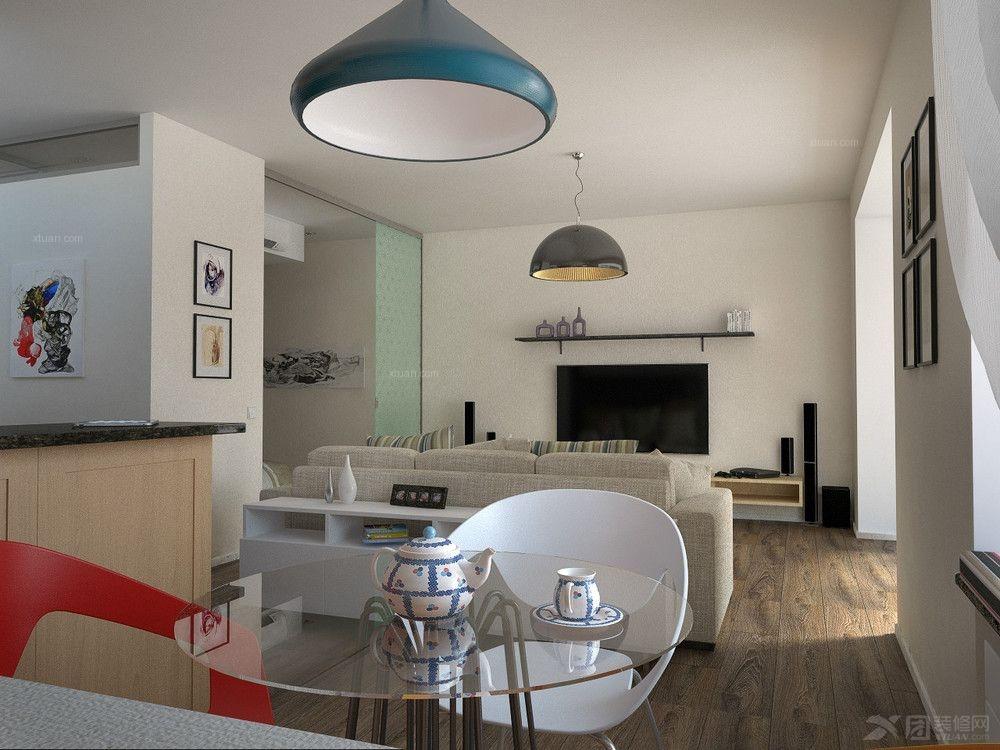 装修效果图  户型:小户型 房间:休闲区 风格:现代简约 装修类型:家装