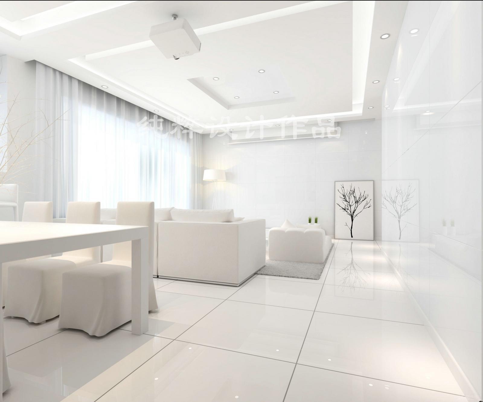 现代中式客厅装修效果图