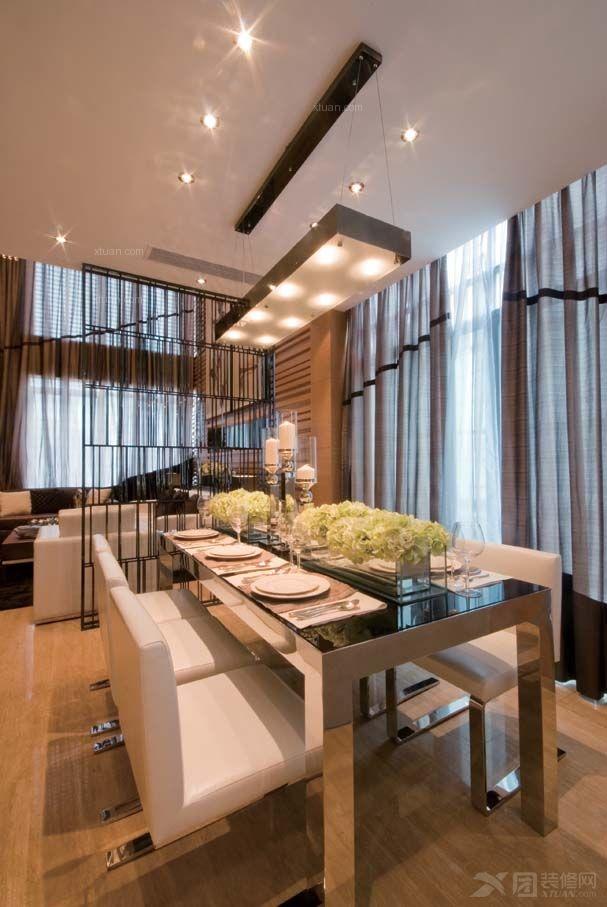 图推荐 单身公寓新古典餐厅_如何选购家庭餐桌椅可根据居室的整体风格