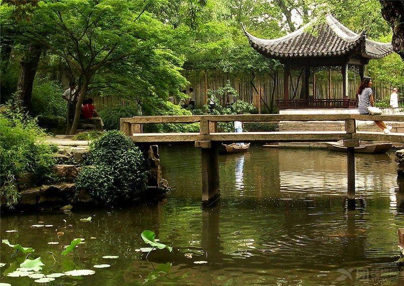 古典风格园林景观_北京中式园林景观设计