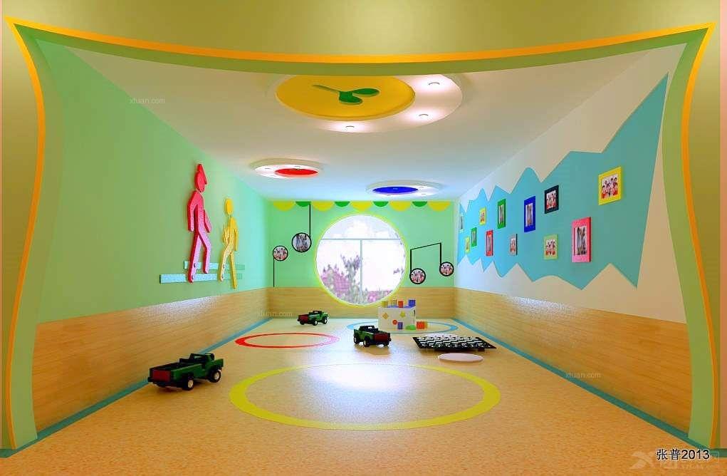 安新幼儿园装修效果图-x团装修网