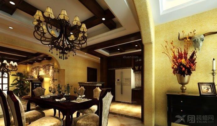 别墅餐厅_览海国际高尔夫别墅