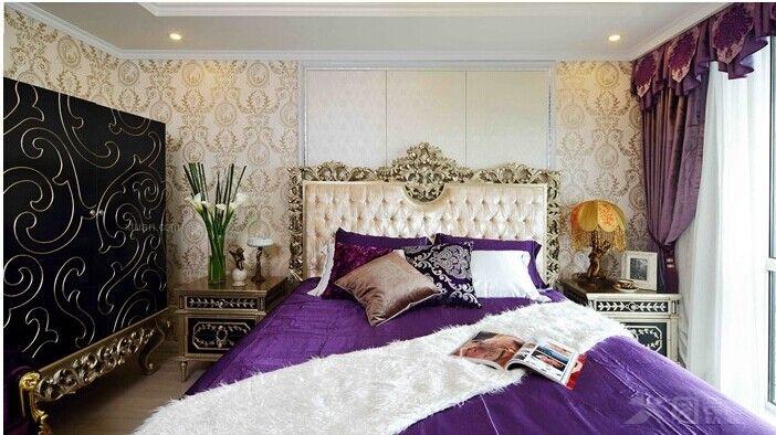 三居室卧室_法式风格图片