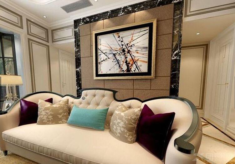 别墅混搭风格客厅_混搭欧式风格图片