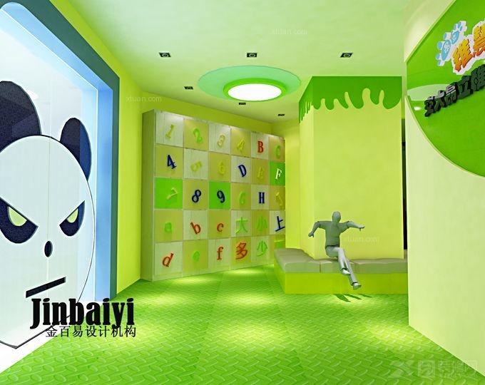幼儿园设计  储物柜 换鞋区设计