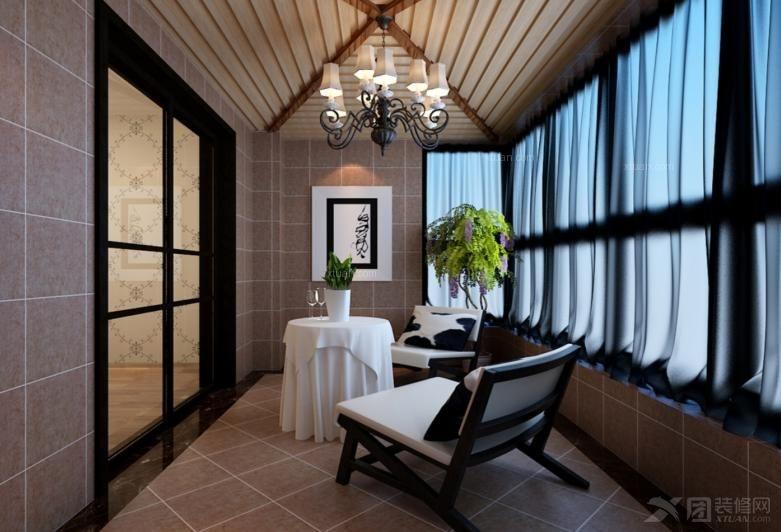 阳台柜  户型:四居室 房间:阳台图片