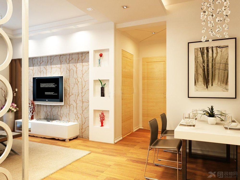 昆明万科白沙润园-三居室装修效果图-昆明面对面装饰一号家居网