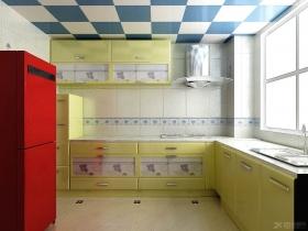 京港国际装修效果图-两室两厅现代简约厨房