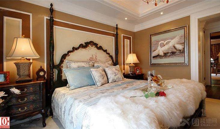 主卧室图装修效果图  户型:大户型 房间:主卧室 风格:欧式风格 装修图片