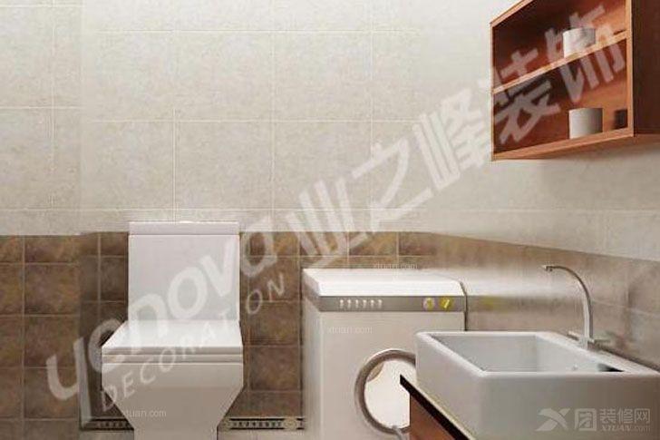 两室两厅简欧风格卫生间_金色和园图片