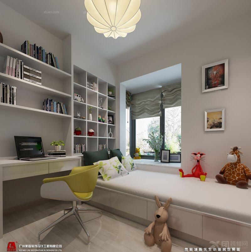 小卧室2013装修效果图  户型:三居室 房间:小卧室 风格:现代简约 装修