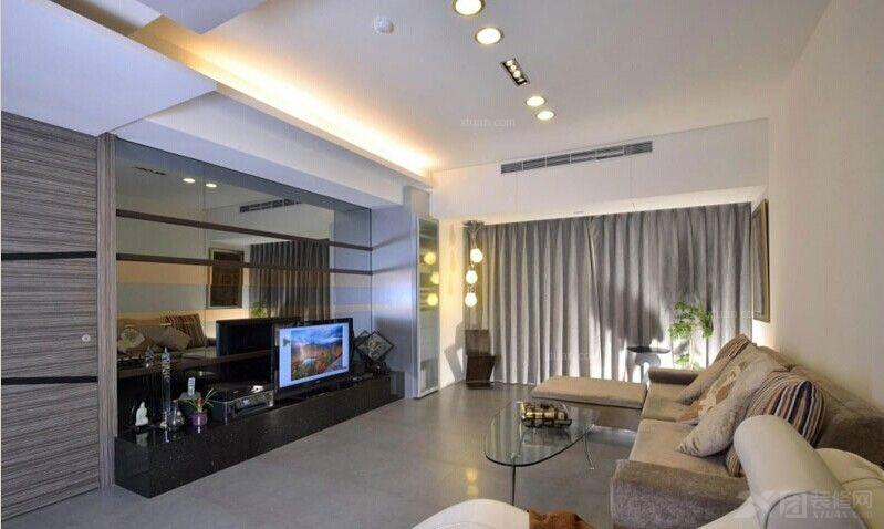 户型:大户型 房间:客厅 风格:现代简约 装修类型:家装 装修方式:半包