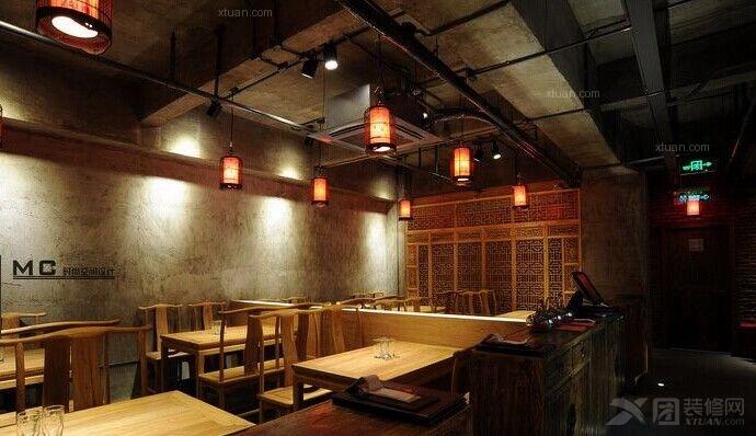 中式风格_上海西安餐饮小店图片