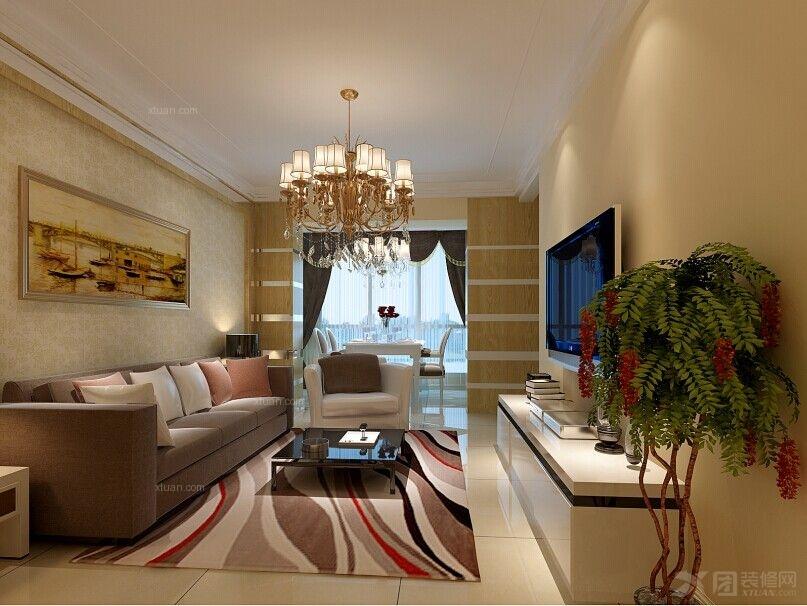 北京像素136平米3居室loft设计案例简约风格