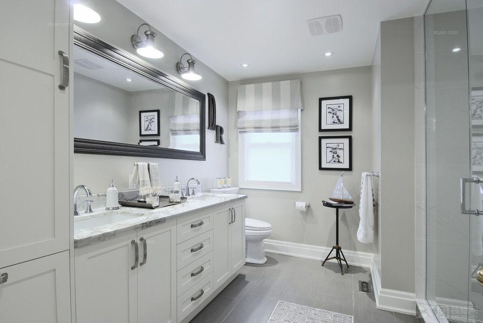 现代优雅浴室