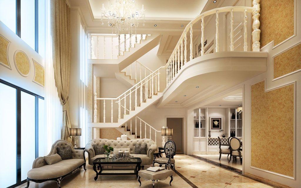 华南城江南华府-233㎡-21.5万 欧式风格 装修案例