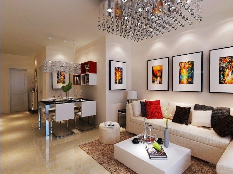 宏瑞星城-91平两居室-简约装修设计效果图