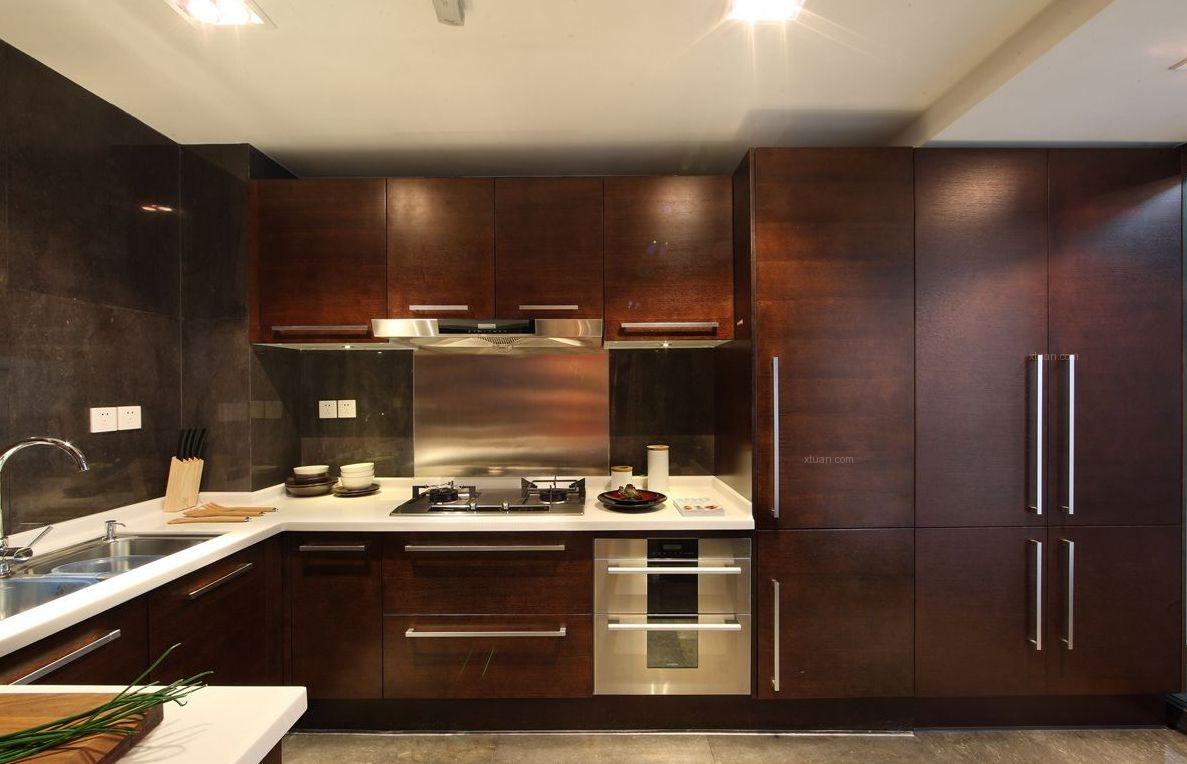 大户型中式风格厨房图片