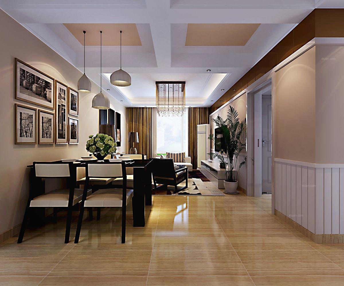 和润华府三室现代简约风格