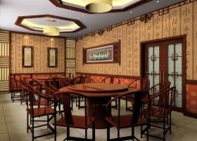 中式酒店装修效果图-中式风格酒店图片