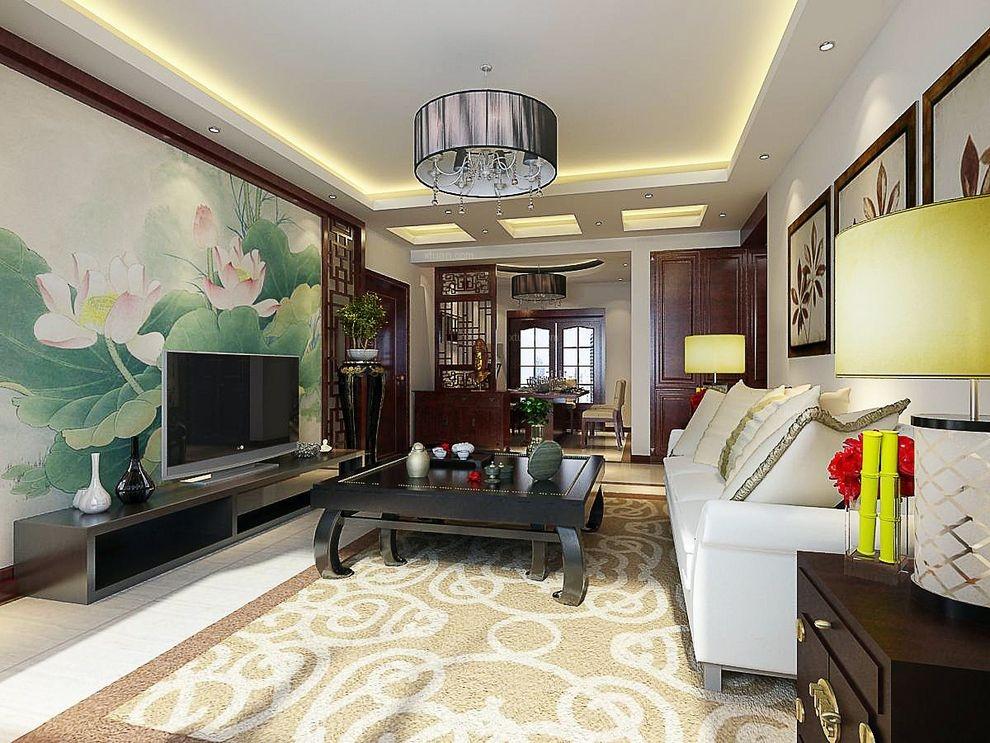 110平米三居室新中式风格作品赏析
