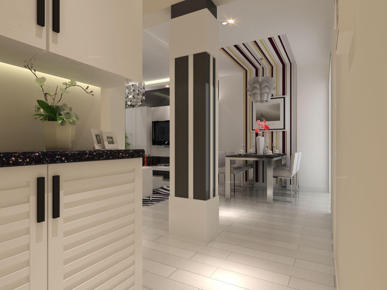 广兰路欧式现代简约黑白两室一厅公寓房
