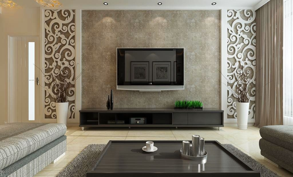 名流印象133平三居室现代简约风格设计效果图
