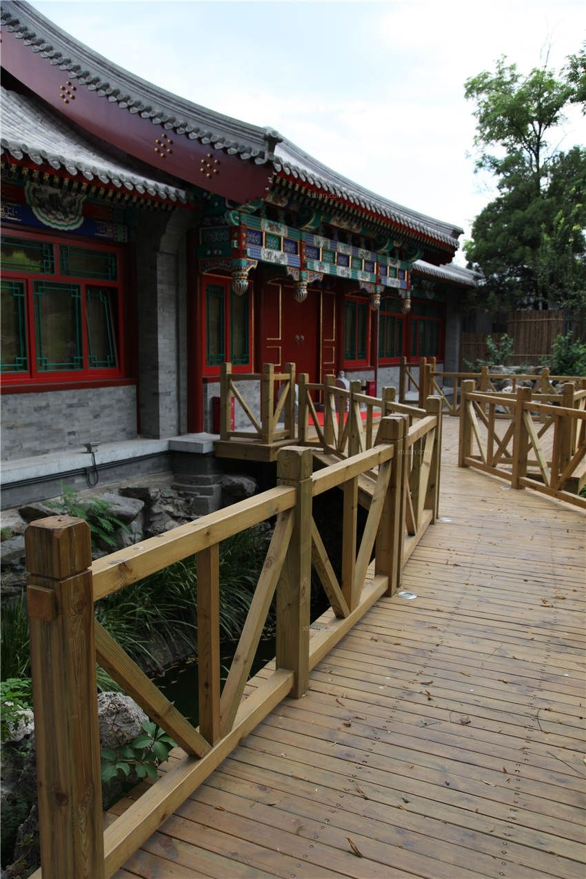 北京四合院图片文化宫二期