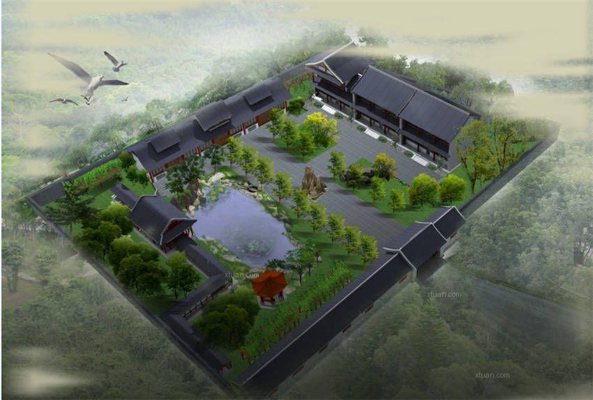 空中四合院设计