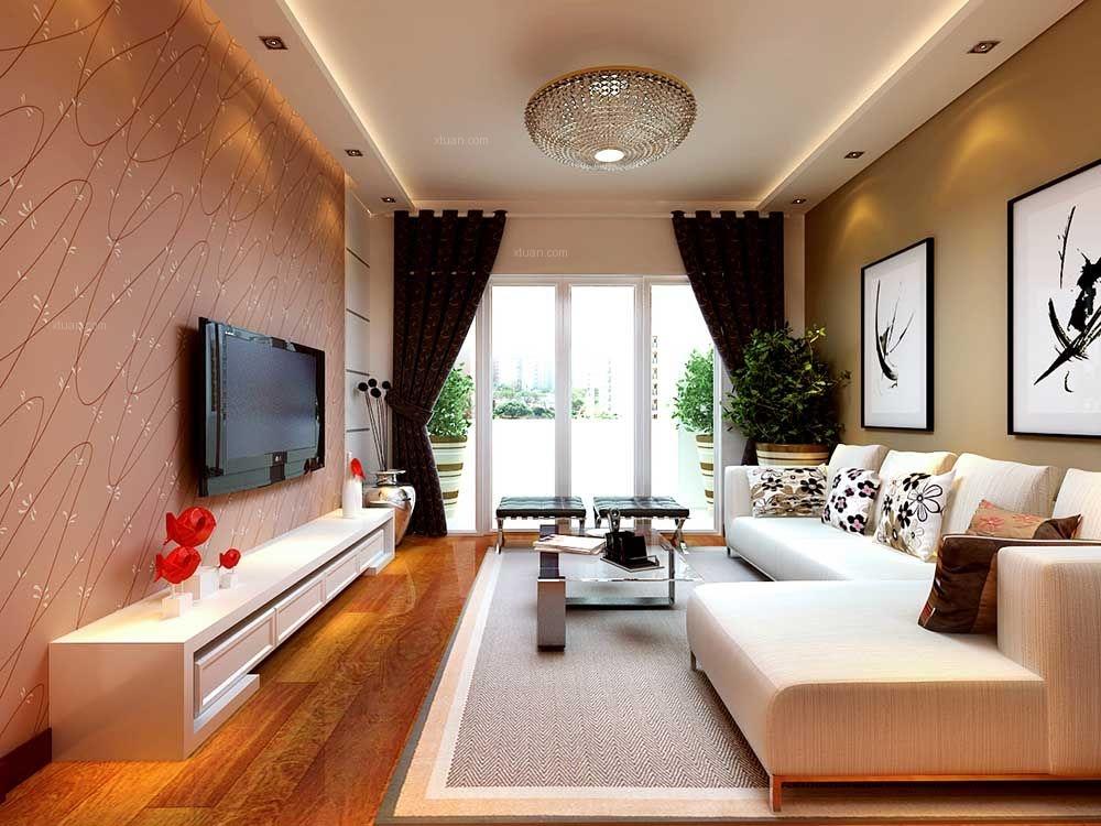 泰安新兴园装修,两室两厅现代简约风格