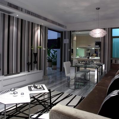 多彩客厅设计-家居的脸面