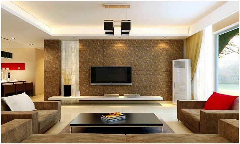 水语青城两居室现代风格装修——呼市鼎盛创典装饰