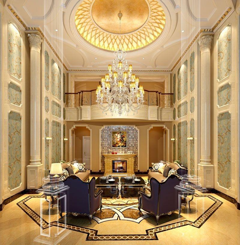 【杭州尚层装饰】金色家园-美式风格