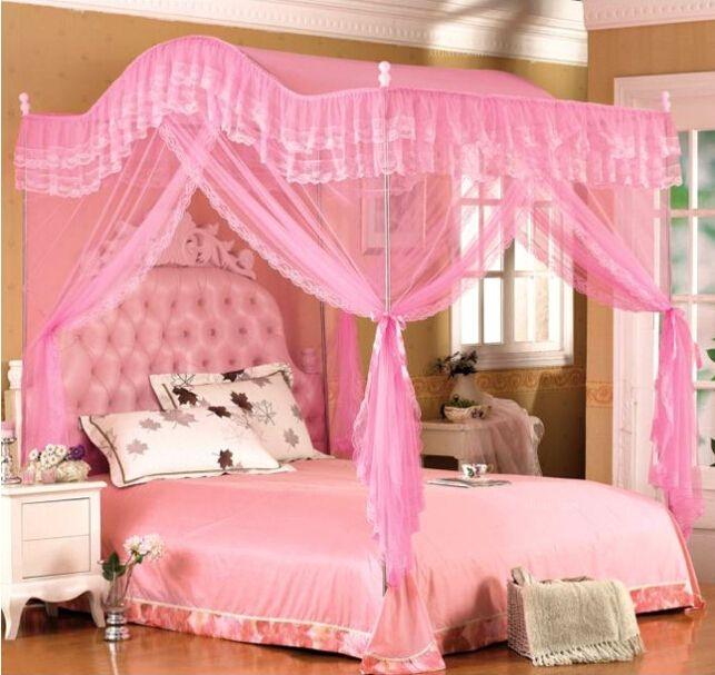 卧室蚊帐的风光