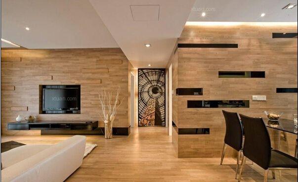 90m²简约爱巢-没有浓妆艳抹的婚房设计