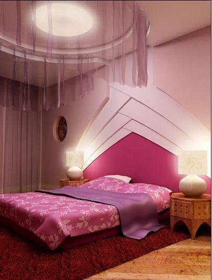 婚房卧室点点红-让爱情艳而不俗