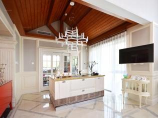 康城暖山-450平别墅简约风格装修设计案例