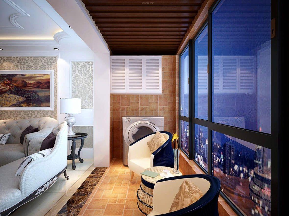 标签:阳台三室两厅简欧风格软装 设计理念:本案是简欧风格,着重体现