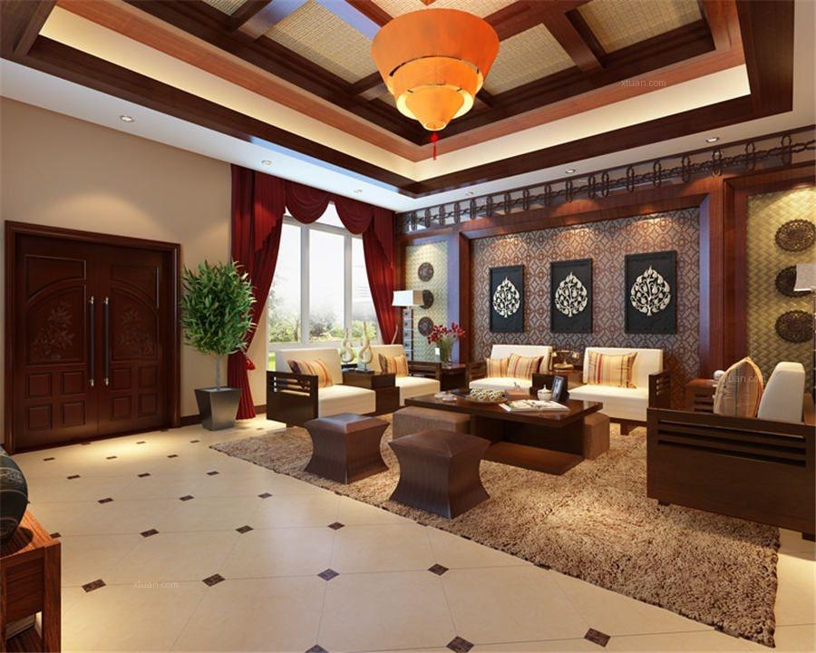 高雅的中式别墅设计