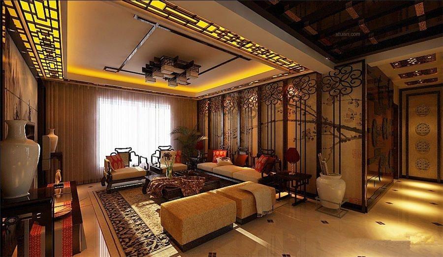 古典中式别墅装修设计