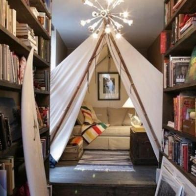 把帐篷搬进家!24款帐篷房设计