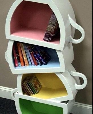 精美创意书柜是书最浪漫的窝