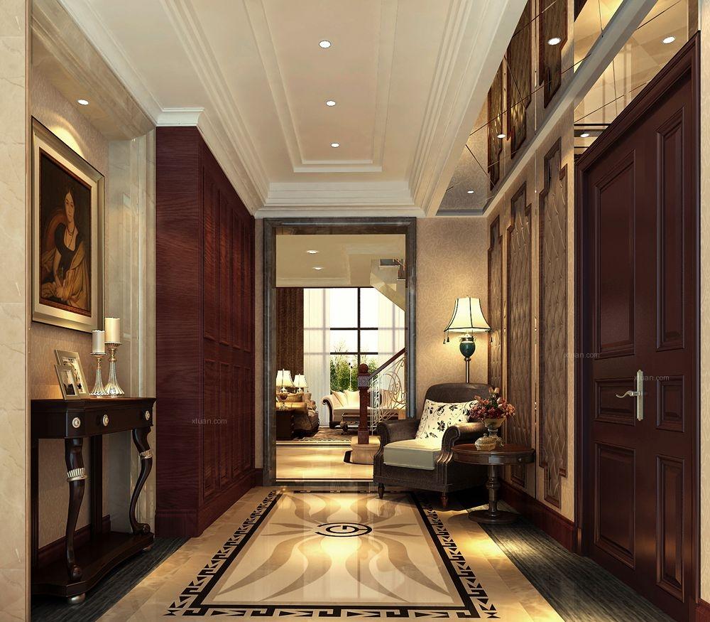 天恒别墅山-500平别墅-混搭风格装修设计案例