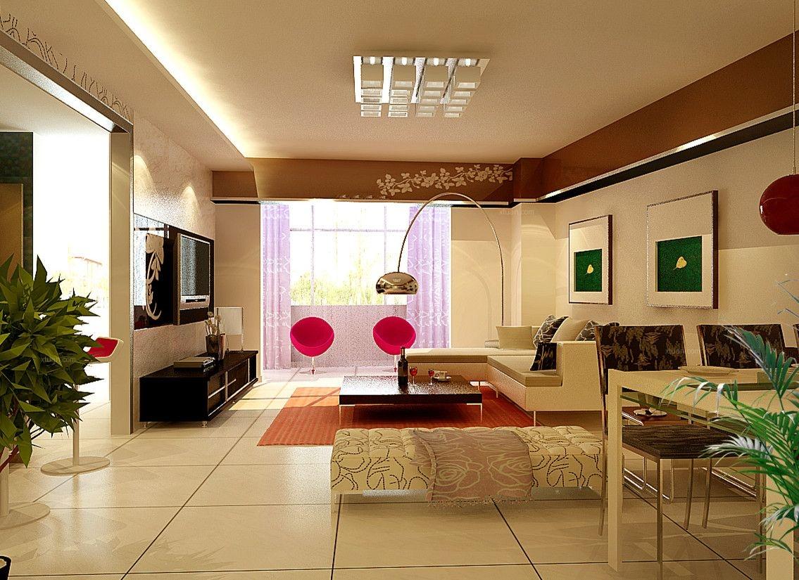 【上海实创装饰】打造三居室现代简约风格装修效果图