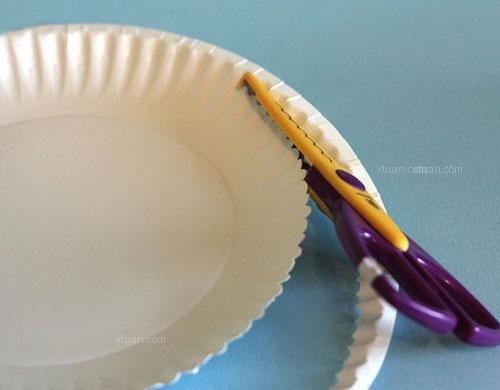 蛋糕小纸盘制作收纳盒,小麻烦大乐趣